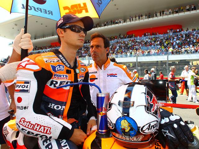 """Dani Pedrosa: """"Siempre he tenido buenas carreras en Sachsenring"""""""