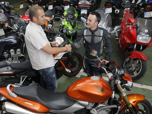 Las ventas de motos de segunda mano superan las de vehículos nuevos