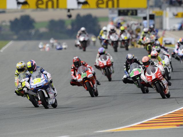 Galería de fotos de Moto2 y 125 cc del Gran Premio de Alemania