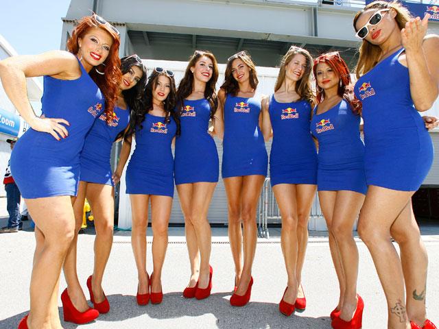 Las chicas del Gran Premio de Estados Unidos de Laguna Seca