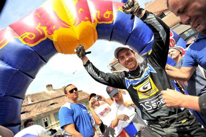 Graham Jarvis gana el Red Bull Romaniacs 2011