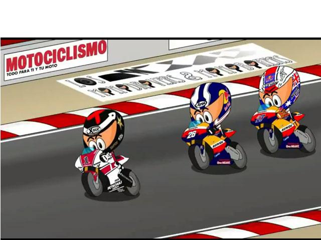 Los MiniBikers en el Gran Premio de Estados Unidos de Laguna Seca