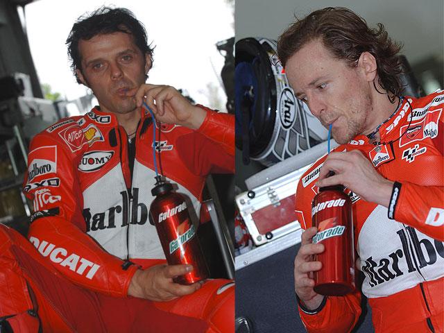 Ducati y Gatorade se unen