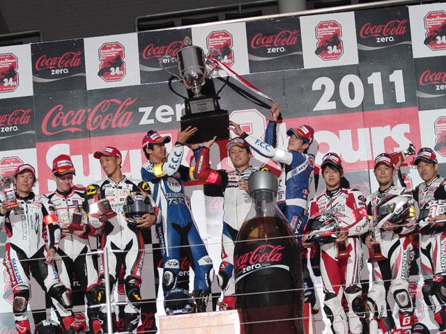 El FCC TSR Honda vence en las 8 Horas de Suzuka