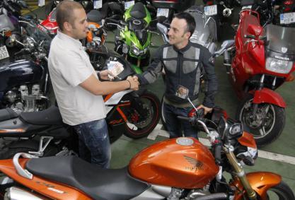 Las matriculaciones de motocicletas caen un 4,5% en julio