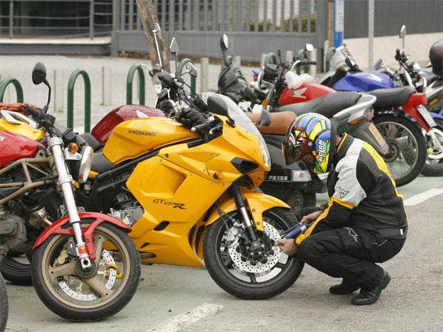 Cómo prevenir el robo de tu moto