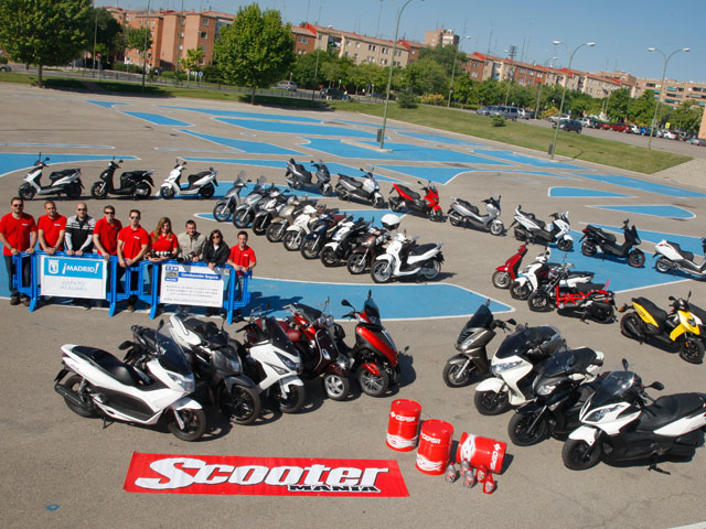 Comparativa de scooter 125