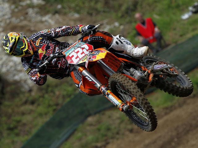 Cairoli y Desalle, victorias en el Mundial de Motocross de Republica Checa