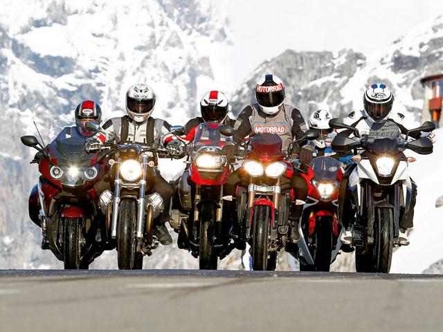 Alpen Master 2011: La gran final de la comparativa de motos