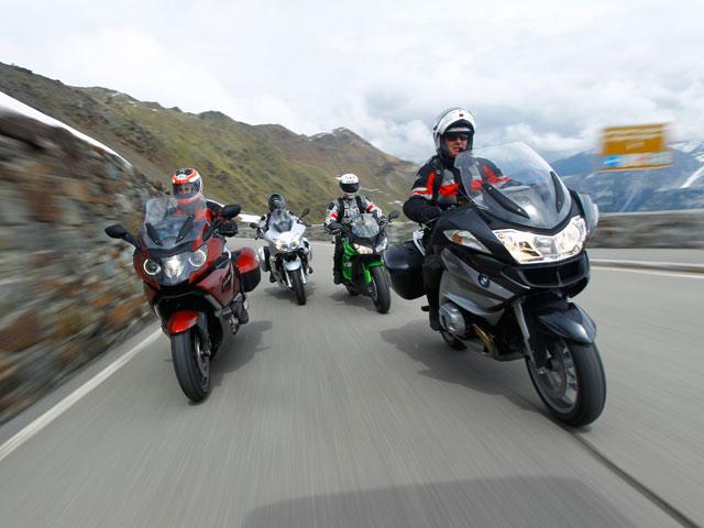 Comparativa motos turismo