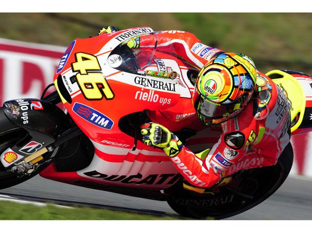 """Valentino Rossi: """"Tenemos que confirmar los progresos que hicimos en Brno"""""""