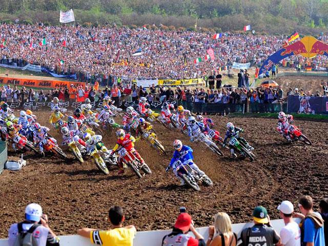 Lista de inscritos para el Motocross de las Naciones