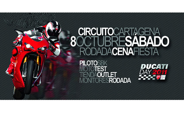 Ducati Day en Cartagena