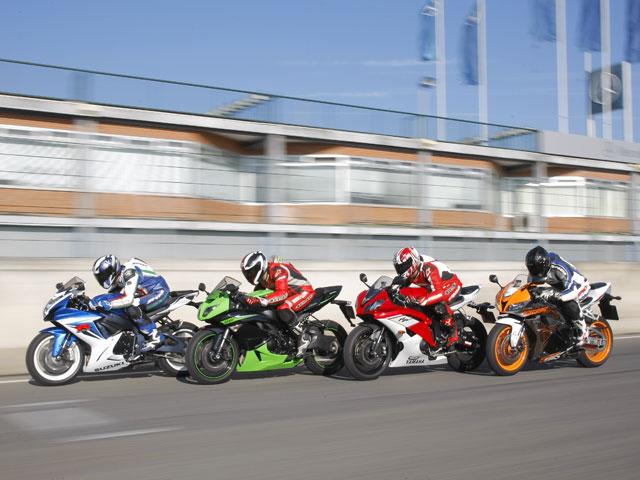 Comparativa supersport: Honda, Kawasaki, Suzuki y Yamaha