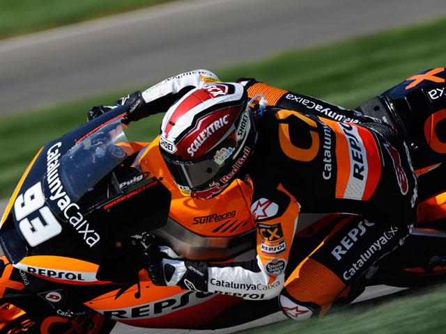 La carrera de Moto2, en fotos