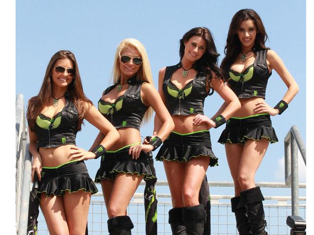Las chicas del Gran Premio de Indianápolis