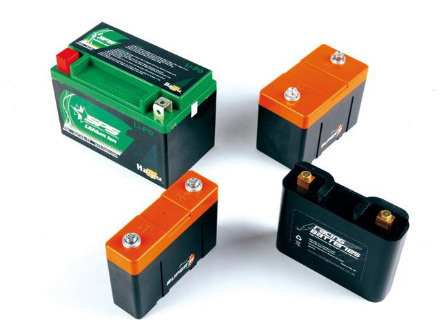 Baterías de litio para moto