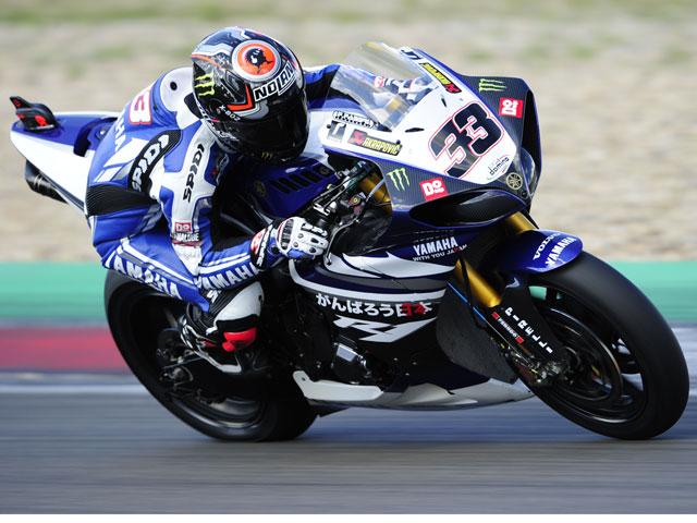 Marco Melandri el más rápido en Misano y Toni Elías prueba la BMW Superbike