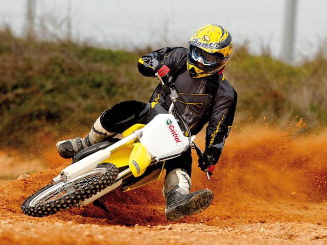 Dominar la moto de campo