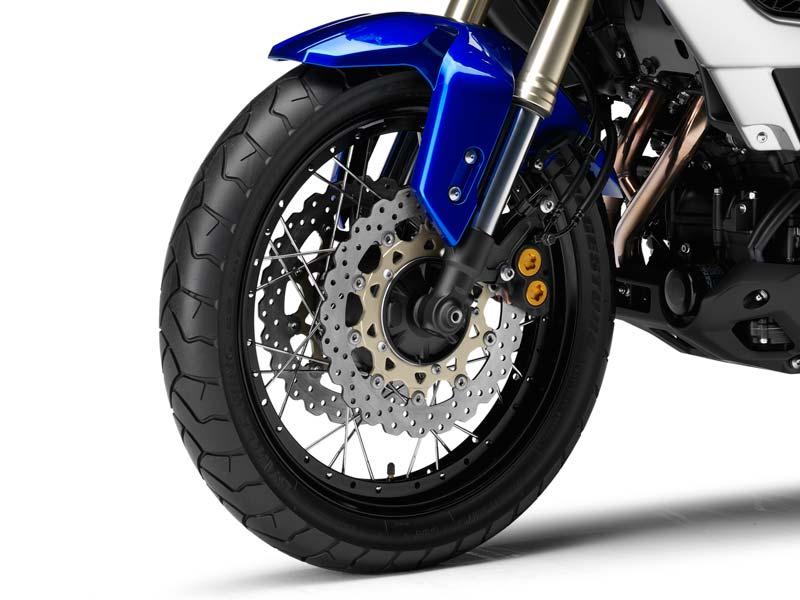 El desgaste de los discos de freno de la moto
