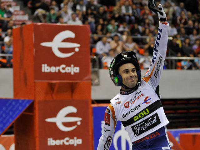 Toni Bou comienza con victoria en Campeonato de España de Trial Indoor
