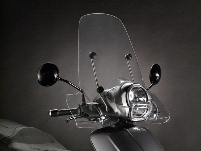 Limpieza de la pantalla de tu moto