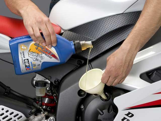 Usar el aceite de motor adecuado