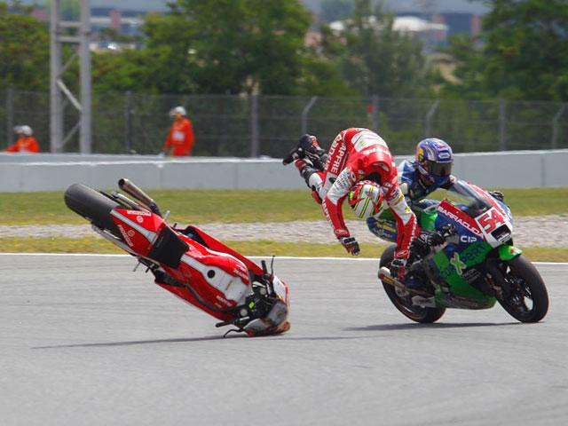 Las Moto2 del Gran Premio de Cataluña, en fotos