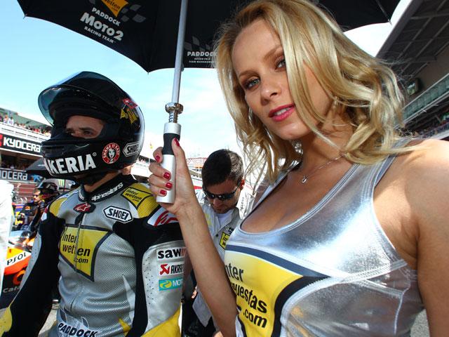 Las chicas del Gran Premio de Cataluña