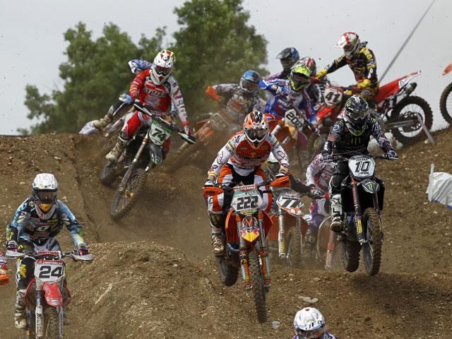7ª Prueba del Mundial de Motocross, en La Bañeza (León)