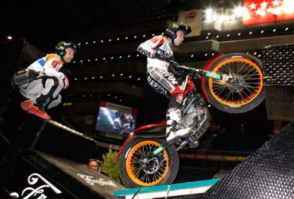 El Campeonato de España de Trial Indoor empieza en Zaragoza