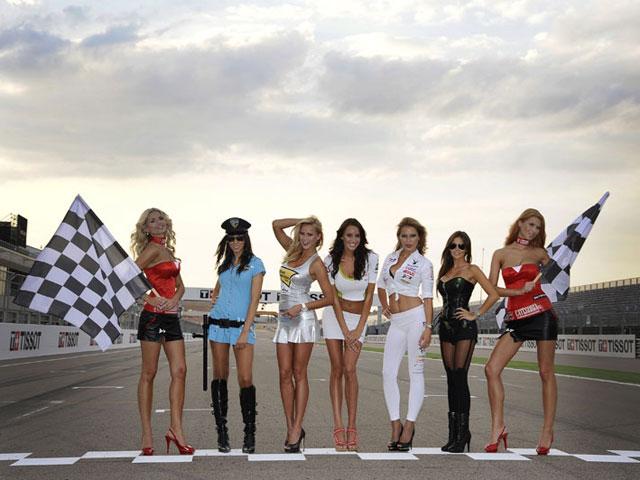Galería de fotos de las chicas de MotoGP
