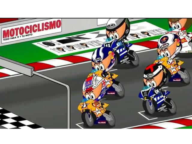 Los MiniBikers en el Gran Premio de Aragón
