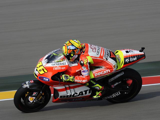 Valentino Rossi: Intentaremos hacer algo más que en las últimas carreras