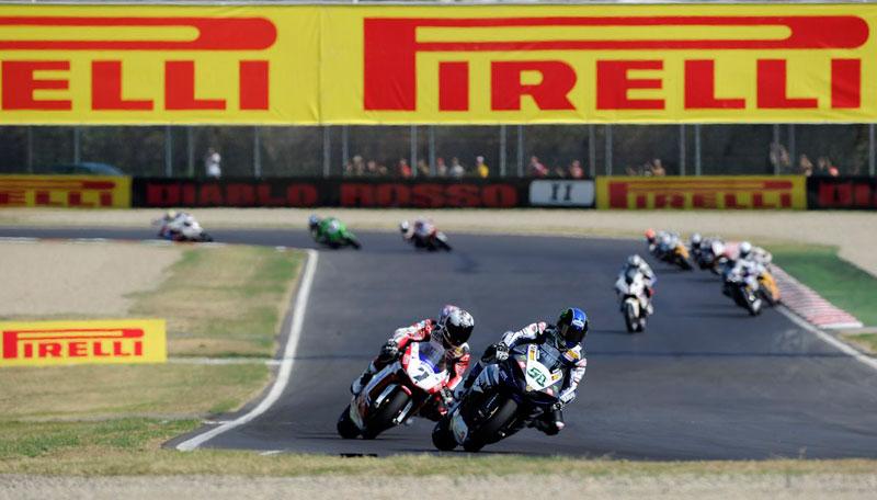 """Neumáticos Pirelli Diablo de 17"""" en el Mundial SBK"""