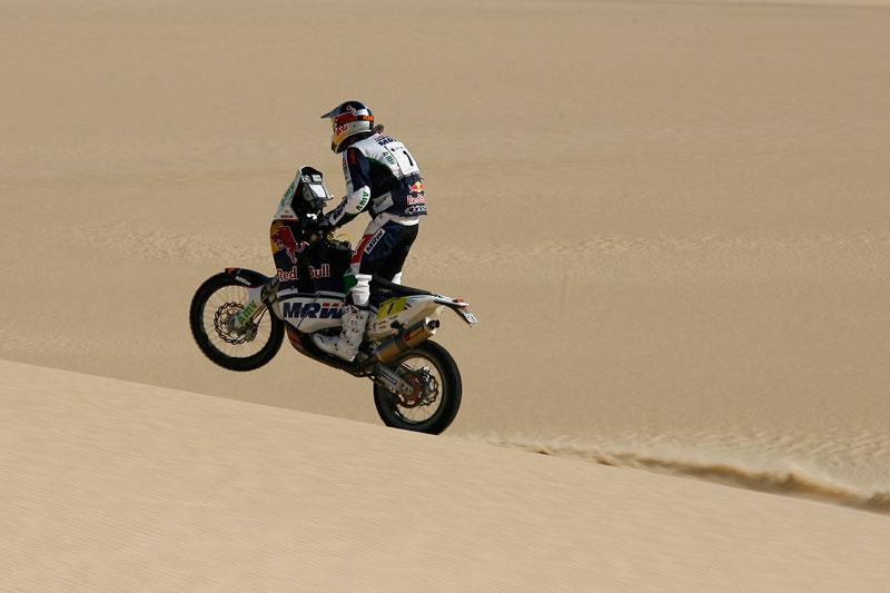 Marc Coma, vence la 2ª etapa en el Rally de Marruecos