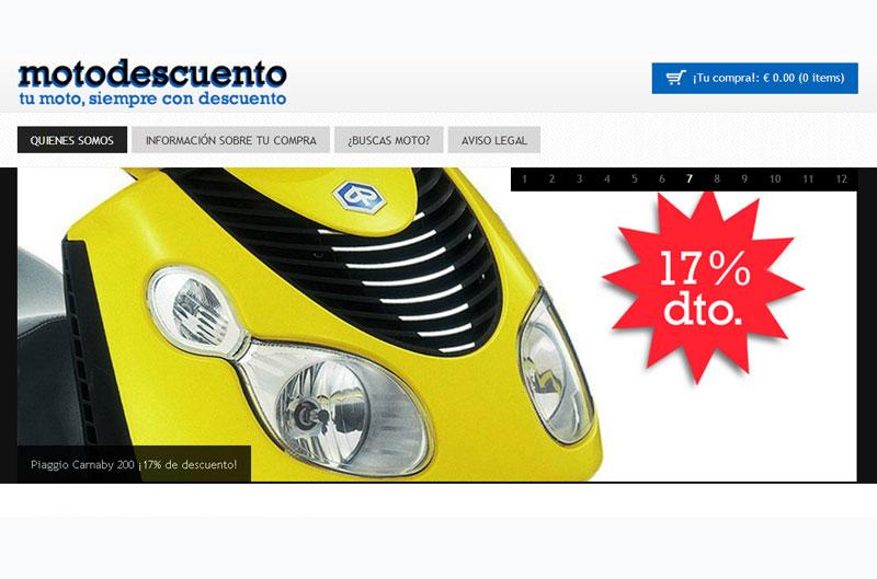 Motodescuento, una tienda online de motos con descuento