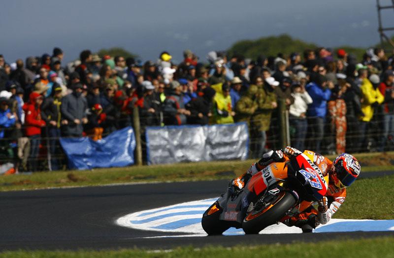 Casey Stoner: Con el campeonato decidido podemos pensar en la moto del año que viene
