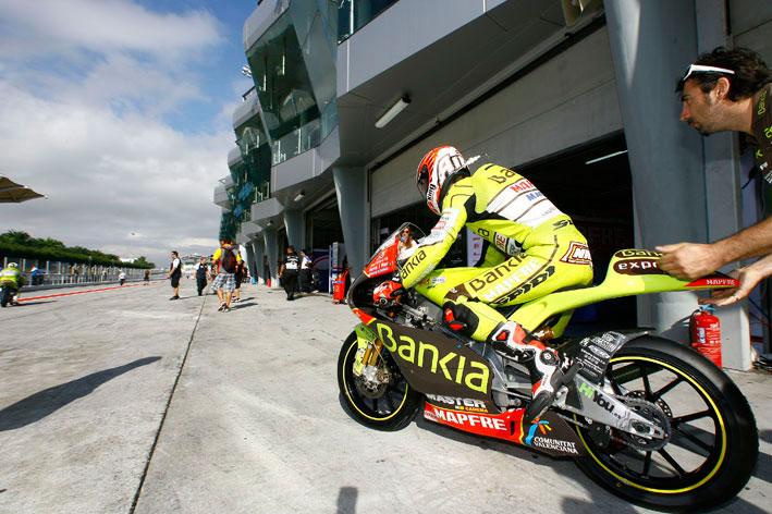 Nico Terol consigue la pole en el GP de Malasia y está a un paso del título