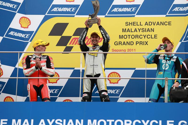Thomas Luthi, victoria en Moto2. Marquez no sale en Malasia