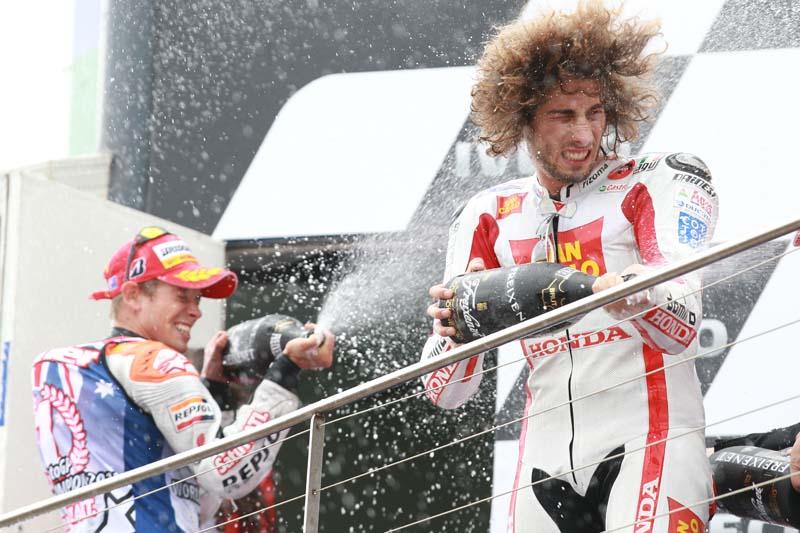 Honda despide a Marco Simoncelli