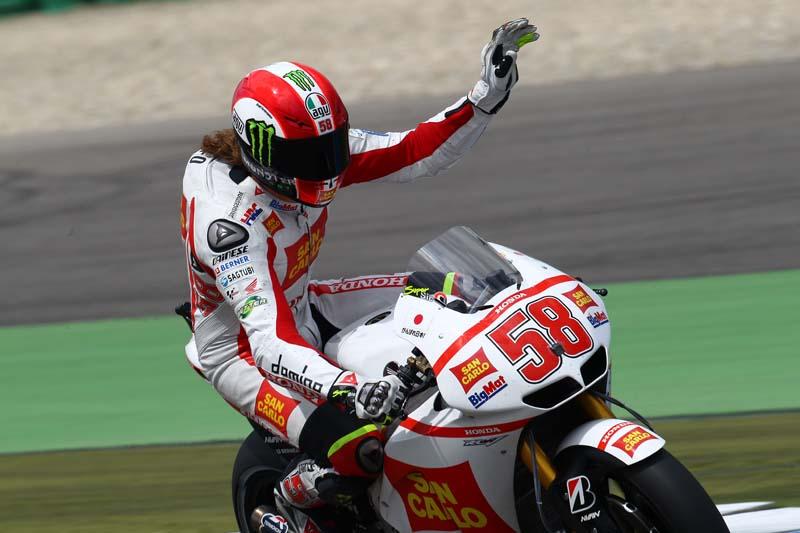 El mundo de la moto da el ultimo adiós a Marco Simoncelli
