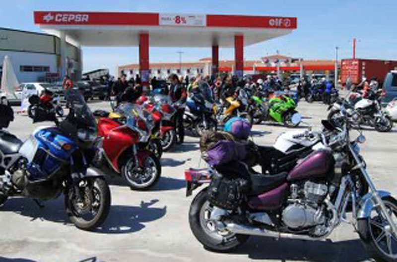 Actividades en los Oasis Motociclismo Cepsa