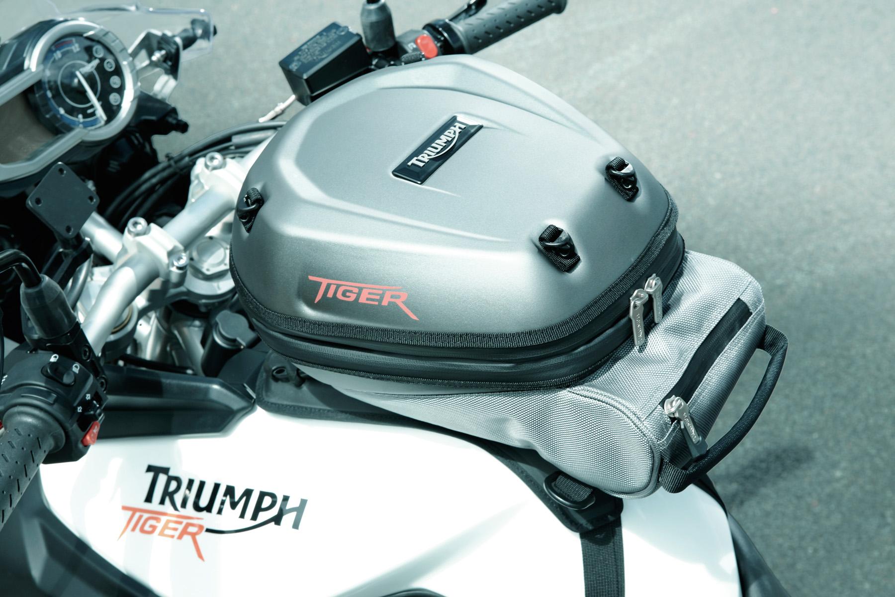 Kit de viaje para las Triumph Tiger 800 y 800XC