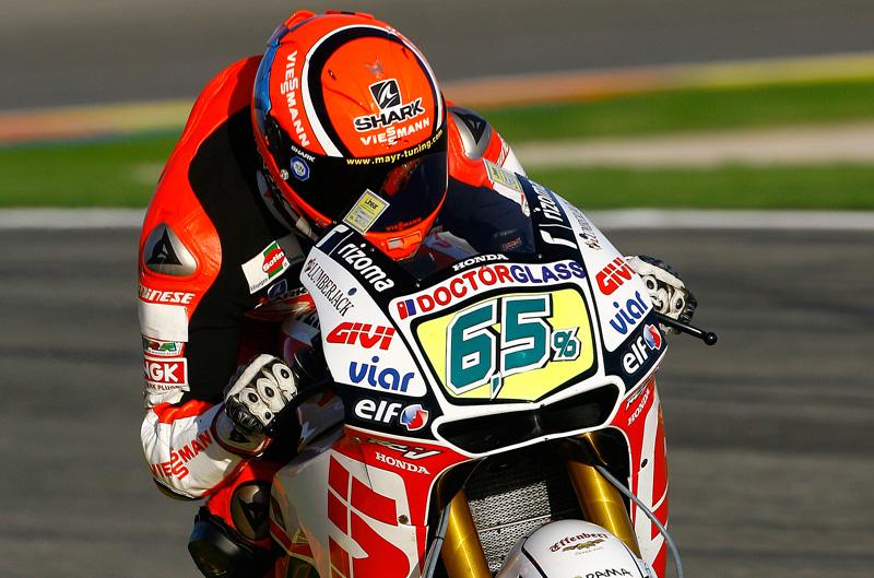 La CRT de Gresini con FTR. West y Bradl en MotoGP