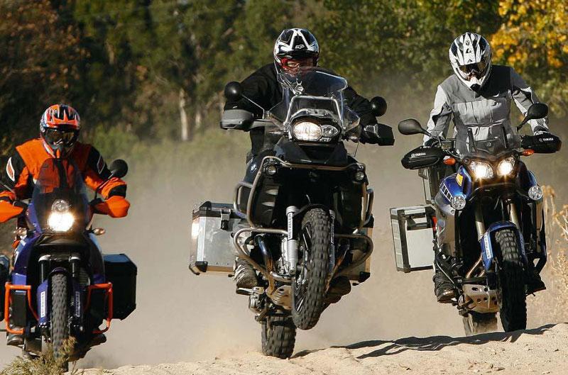 Comparativa maxitrail: KTM, BMW y Yamaha