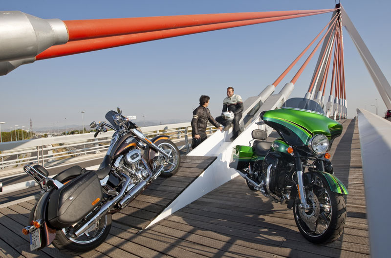 Comparativa Harley-Davidson CVO