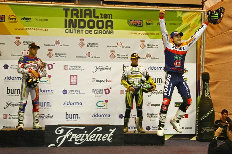 Toni Bou, Campeón de España de Trial Indoor 2011