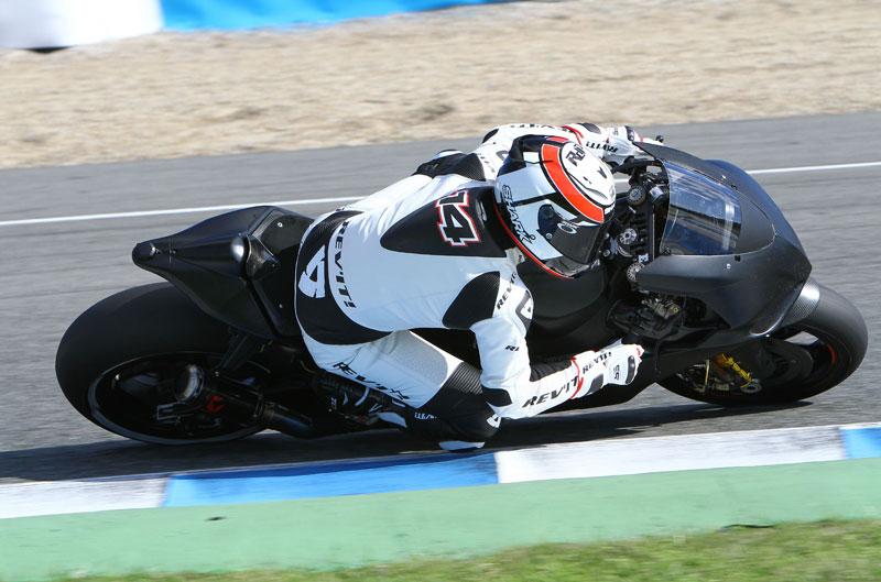 Segunda jornada de entrenamientos en Jerez