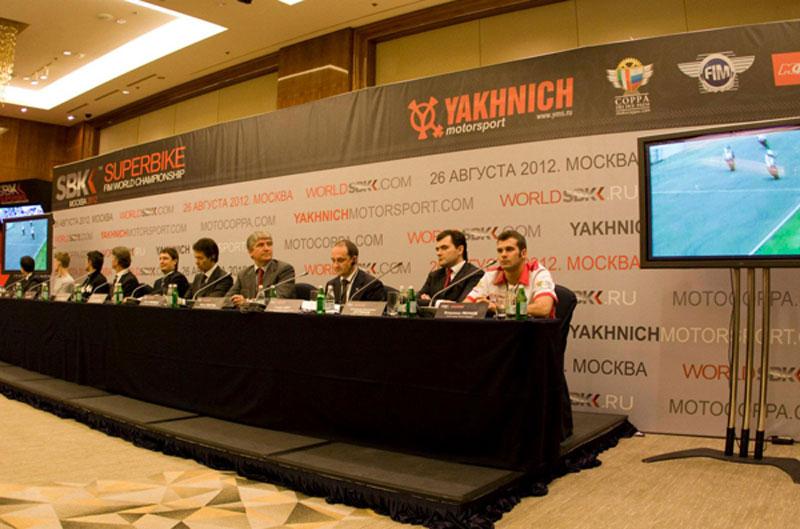 Las Superbike correrán en Moscú en agosto de 2012